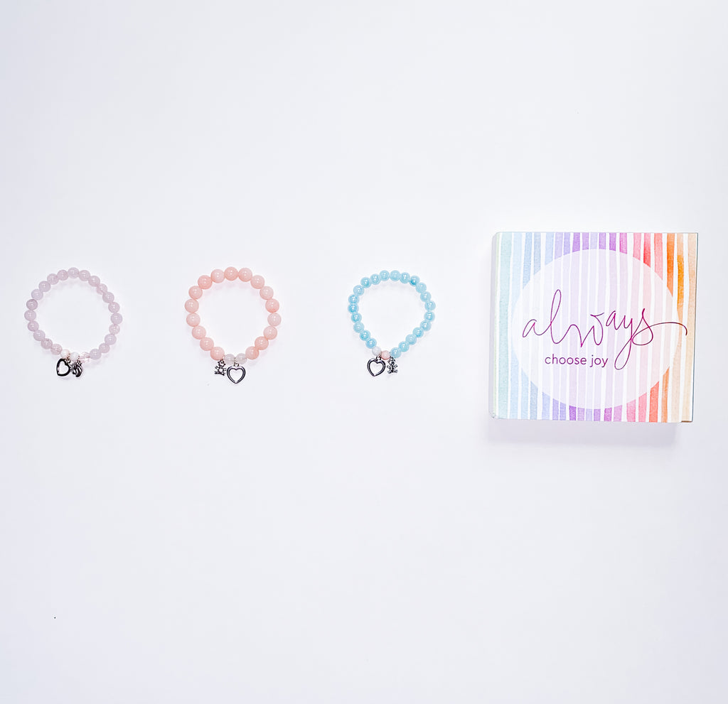 My Joy Bracelet Collection - Leo + The Gemini
