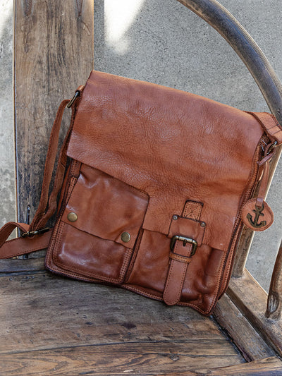 Tasche Leder Cognac Harbour 2nd