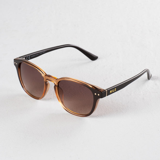 Sonnenbrille Brown NILE