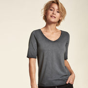 Shirt Eco Baumwolle Anthrazit Dirty NILE