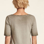 Shirt Eco Baumwolle Khaki Dirty NILE
