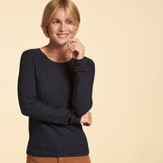 Pullover Eco Baumwolle Midnight NILE