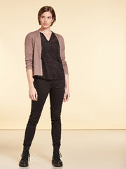 Cardigan Eco Baumwolle Antic Rose NILE