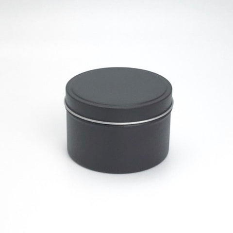 Black Tin Candles