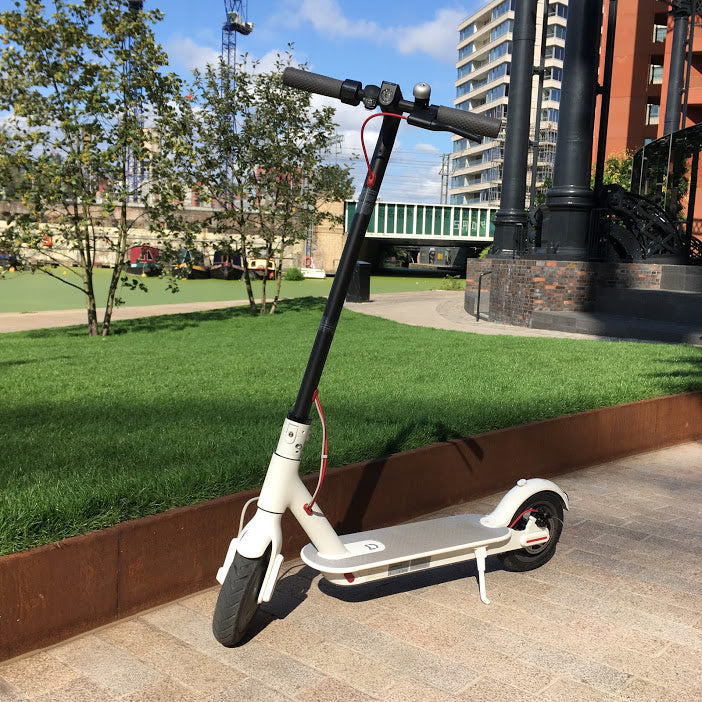 Xiaomi M365 electric scooter European version in white