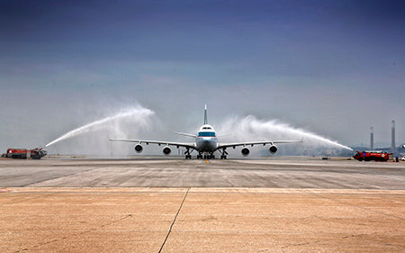 Cathay Pacific Boeing 747-400 farewell flight