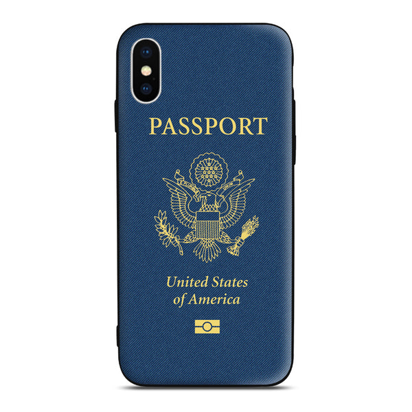 United States Passport Phone Case iphone Android traveler gift pilot