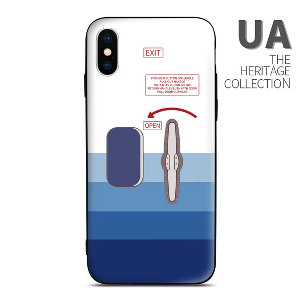 best loved ebf7d e56f9 UA Heritage Rising Blue Boeing 747 Door Style Phone Case
