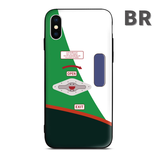 EVA BR AIr Phone Case aviation gift pilot iPhone Andriod Apple Samsung Huawei