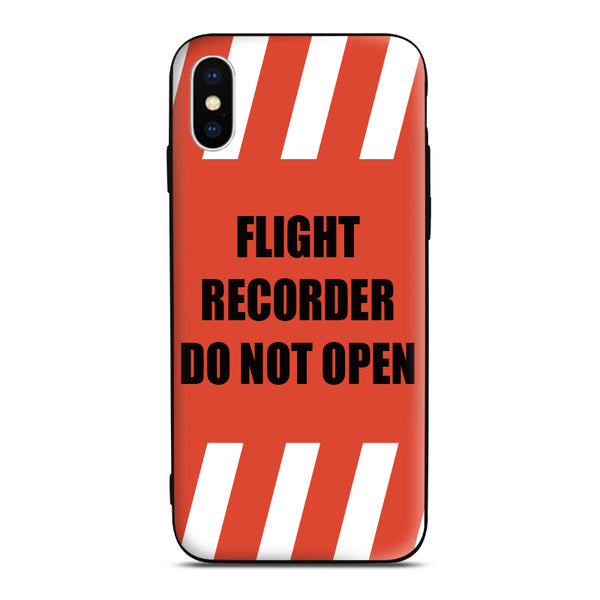 Black box Phone Case airline aviation gift pilot iPhone Android Apple Samsung Xiaomi Huawei