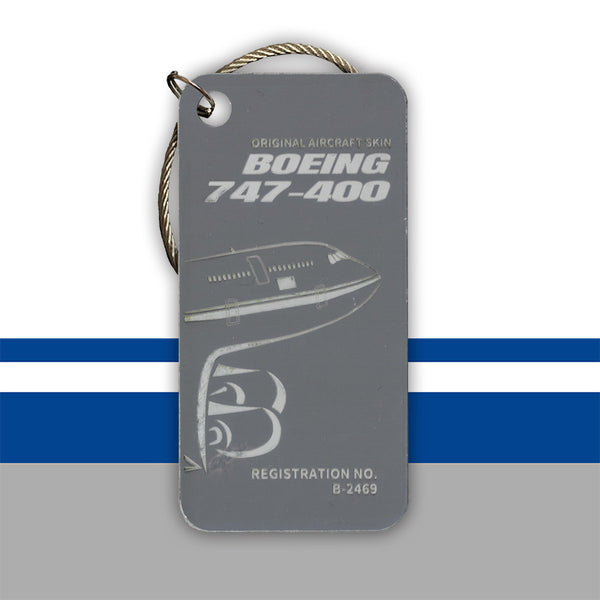 Air China Boeing 747 B-2469 luggage tag key chain original aircraft skin aviationtag planetags Start Alliance
