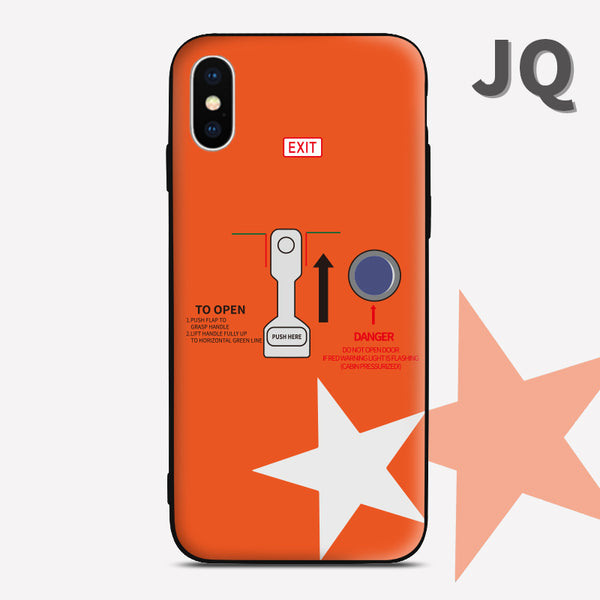 Jetstar JQ Airbus A320 A321 Phone Case aviation gift pilot iPhone android Samsung Apple Huawei Xiaomi