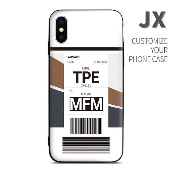 JX StarLux color Baggage Ticket design perfect for aviation geeks crew pilot apple iphone huawei samsung xiaomi