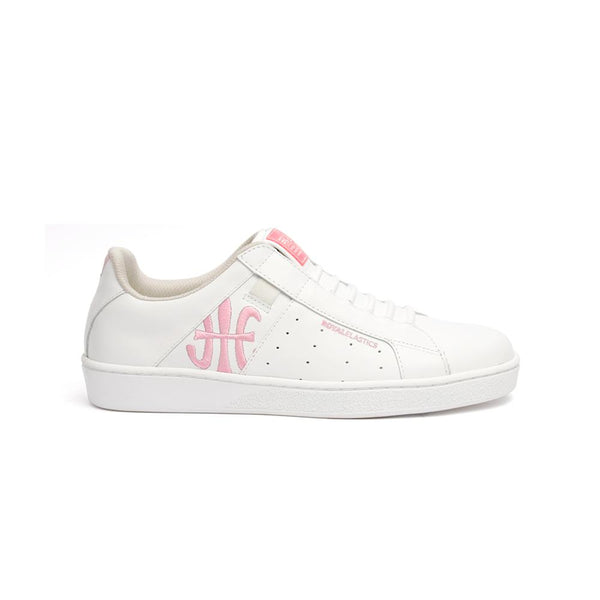Ladies' ICON Genesis Bubble Gum White/Pink 91992-100<br />レディース 白 ピンク レザースニーカー
