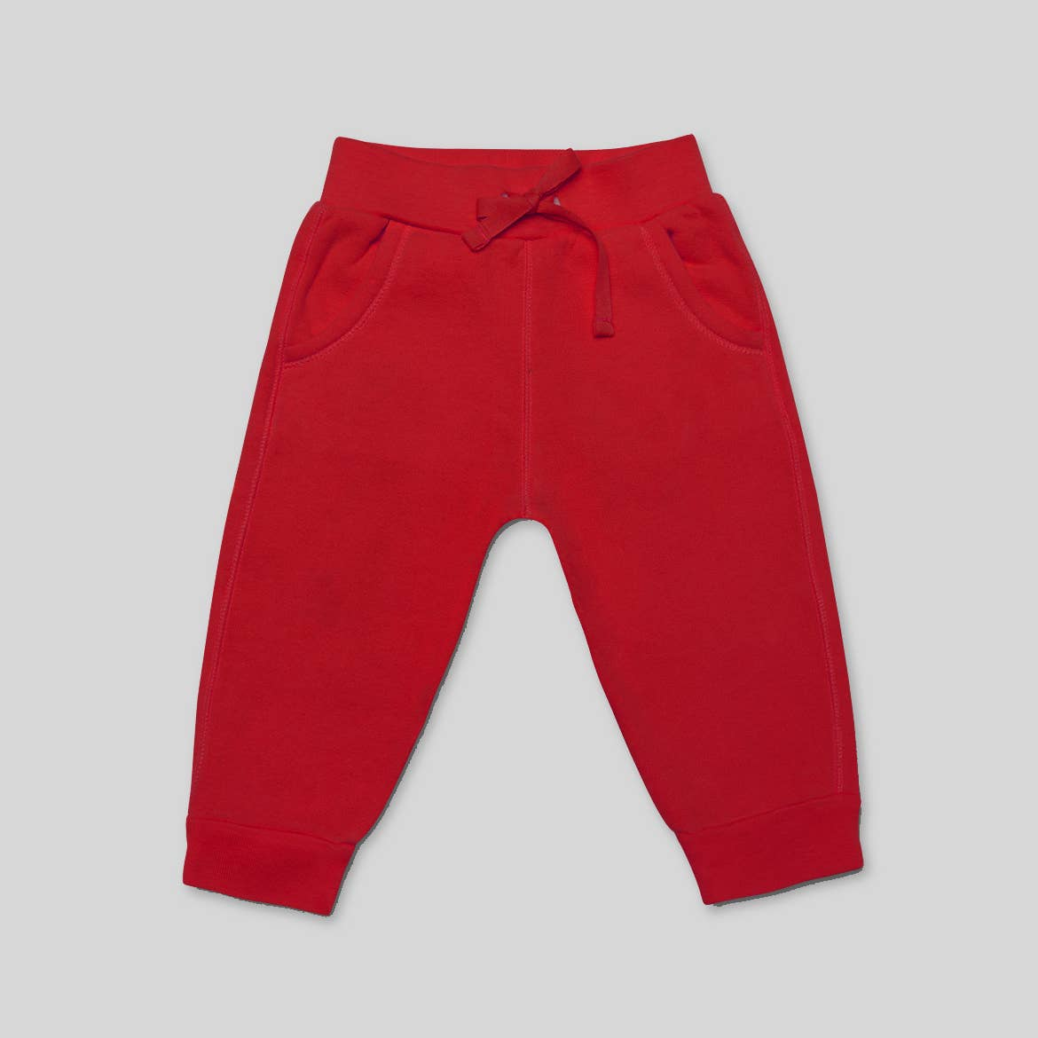 Kidential - Red - Baby French Terry Jogger