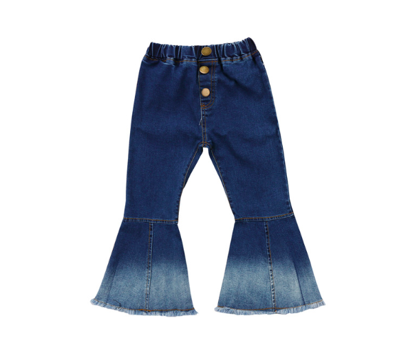 The New Class - Margherita Denim Bell Bottom