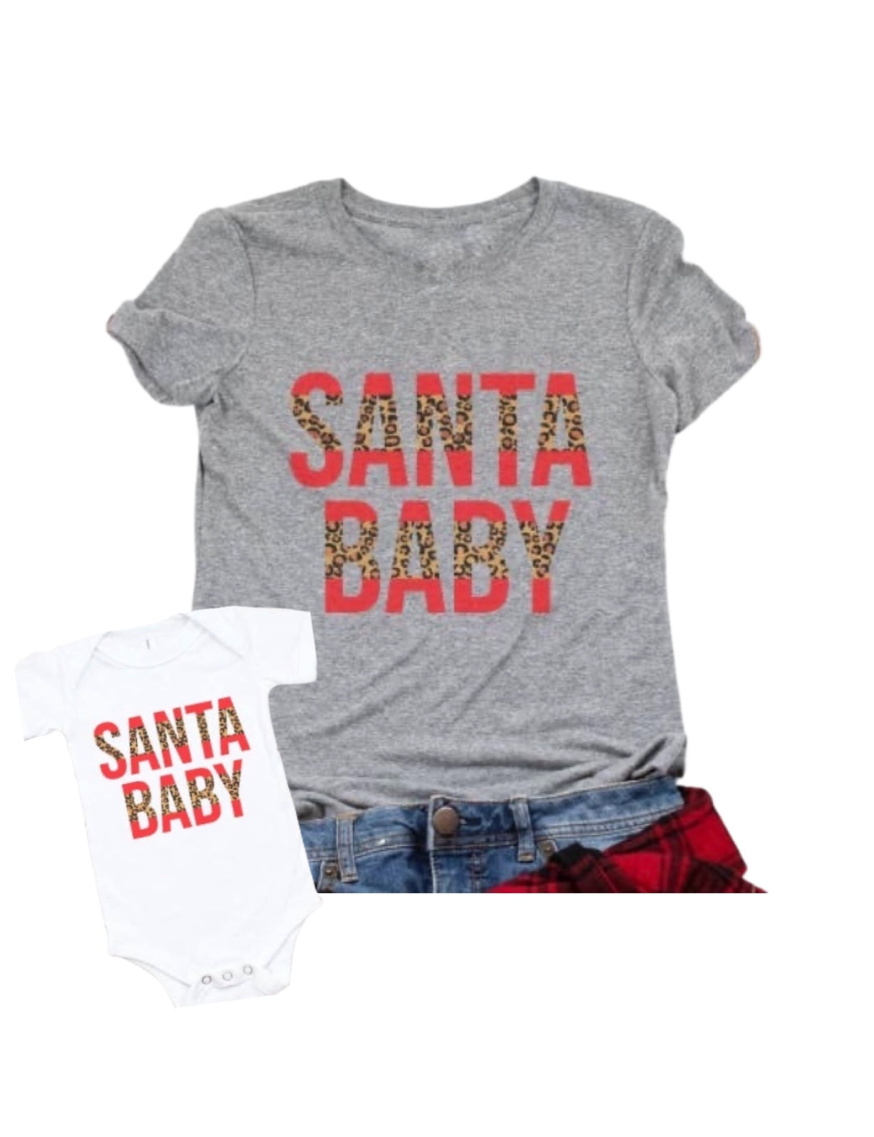 Santa Baby Christmas Bodysuit or Shirt