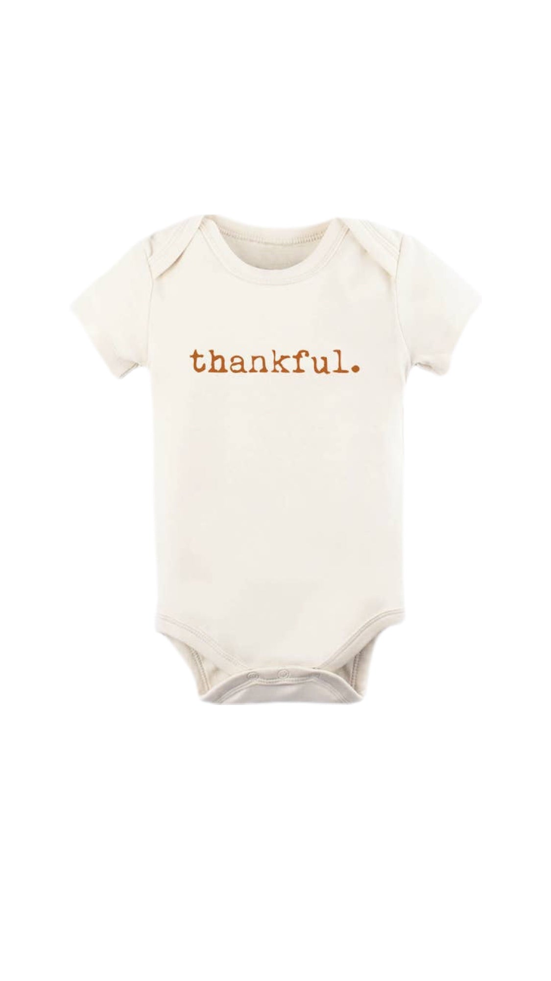 Thankful - Short Sleeve Bodysuit