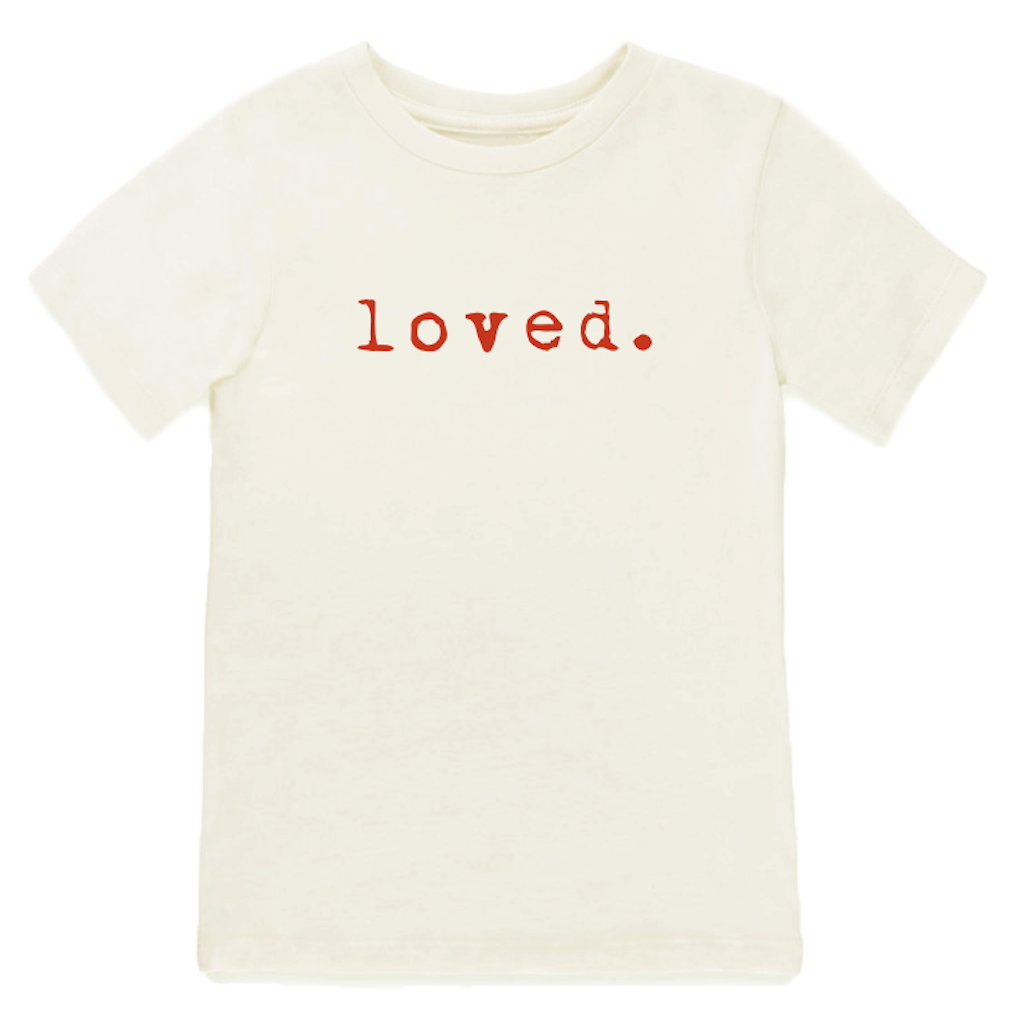 Tenth & Pine - Loved - Red Short Sleeve Tee