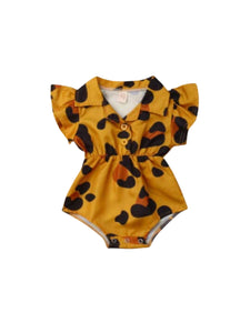 Animal print Betty Onesie