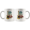 I May Be Old But I Got To See All The Cool Bands Gift White Mug 11 oz