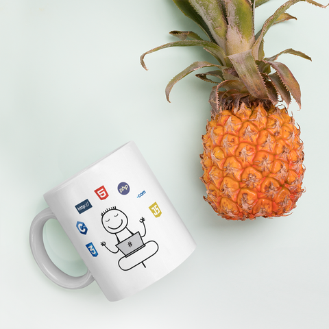 Yoga For Software Engineers Programmer Funny Gift Mug