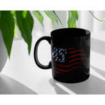 Pro Trump Political Gifts - 45 Squared Squad USA 2020 Black Coffee Mug 11 oz