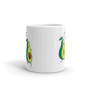 Wait You're The Good Kind Of Fat Avocado Lover Gift Coffee Mug 11 oz