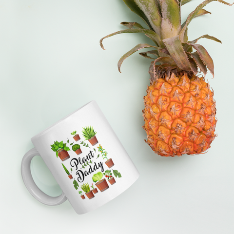 Plant Lover Gift - Plant Owner Daddy Father's Day Appreciation Presents Coffee Mug 11 oz