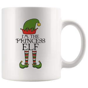 I'm The Princess Elf Group Matching Family Christmas Coffee Mug 11 oz