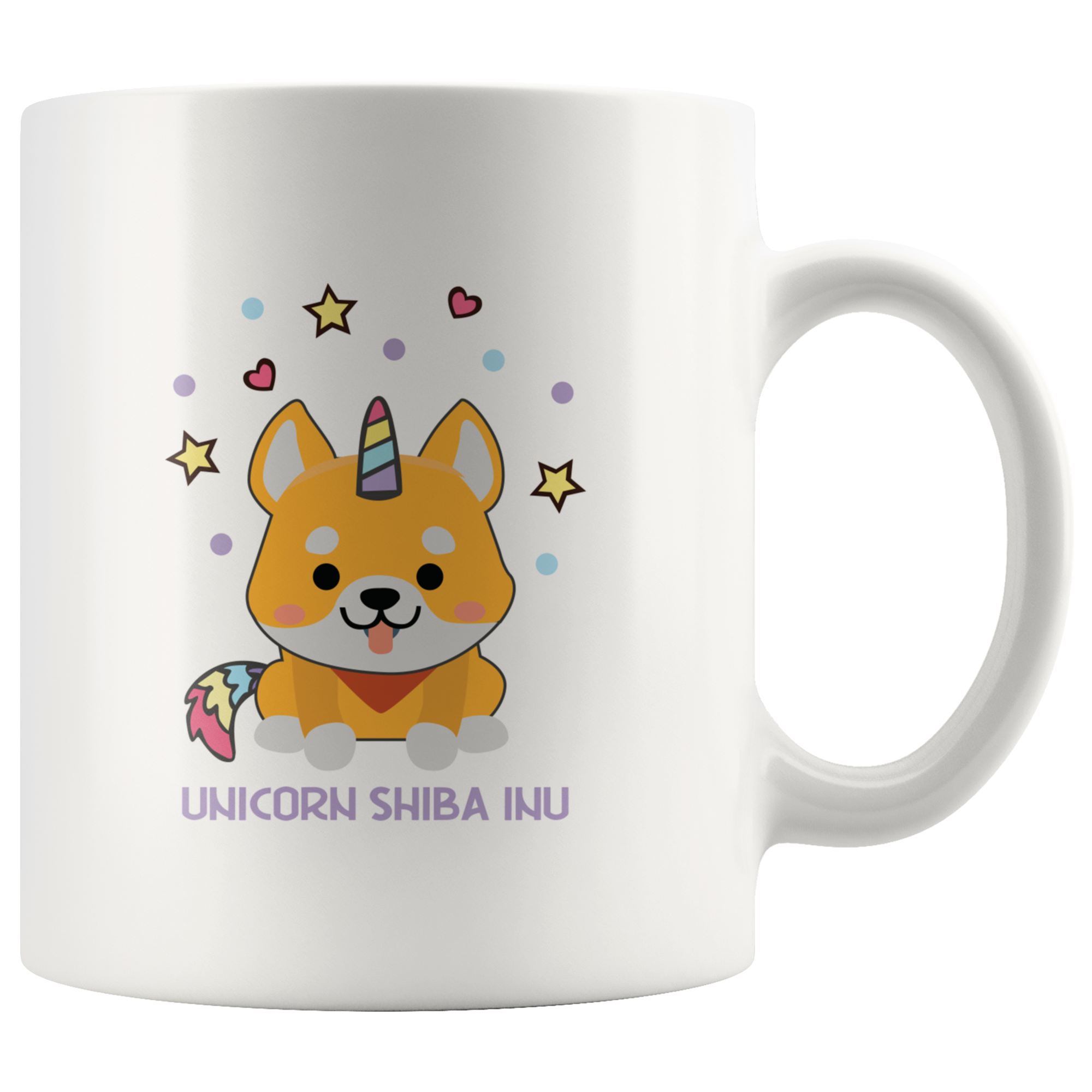 Unicorn Shiba Inu Japanese Dog Unicorn Fanatics Coffee Mug Gift 11 oz