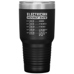 Electrician Hourly Rate Minimum If You Watch Sarcastic Coffee Tumbler 30 oz