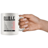 Bible Emergency Numbers Christian Hotline Gift Idea Ceramic Mugs 11 oz