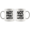 Not Paint Water Art Teacher Appreciation Gift Ceramic Coffee Mug 11 oz