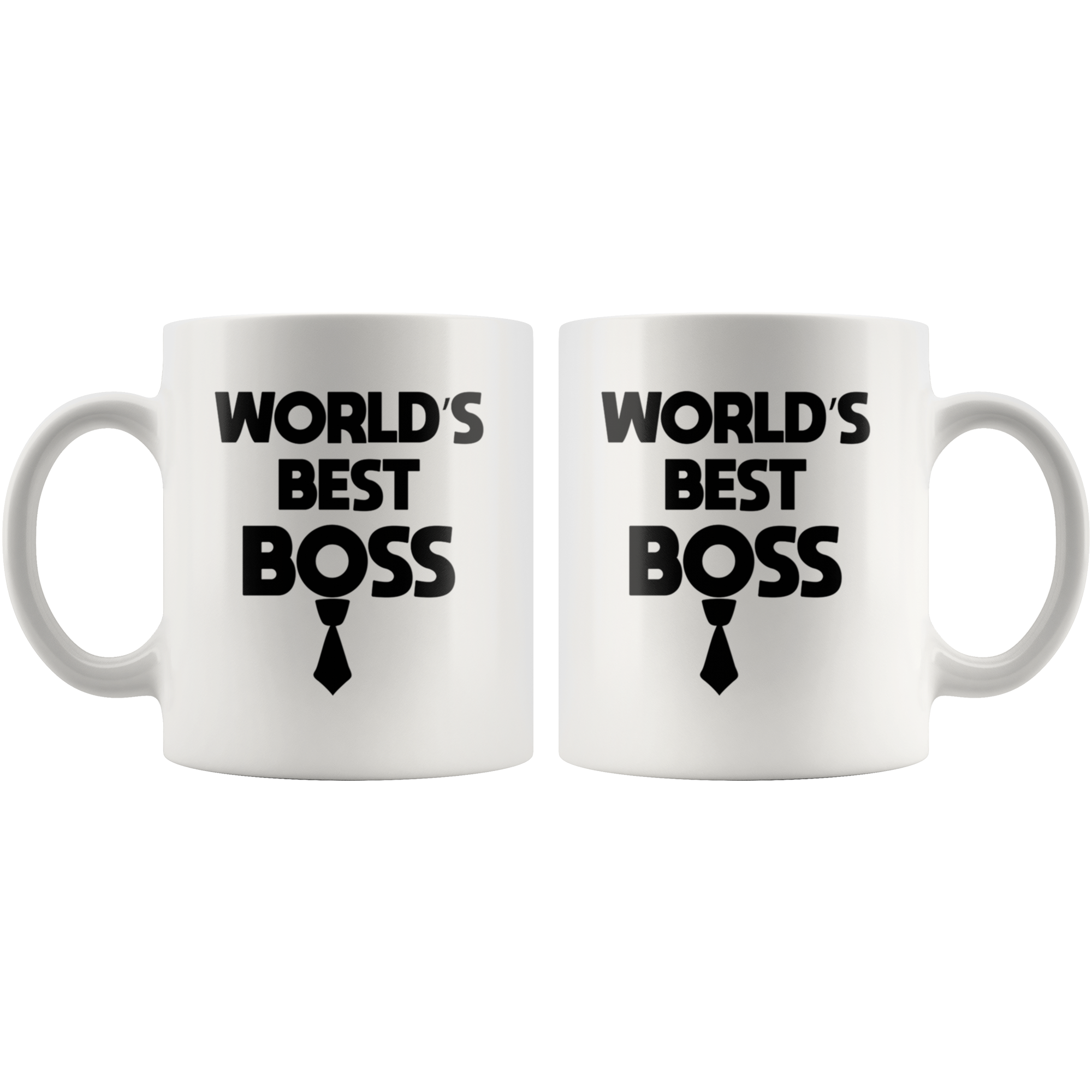 Worlds Best Boss Mug-Funny Gift Ideas for Boss-Funny The Office Coffee Mug
