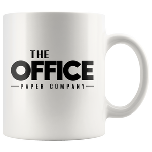 The Office Paper Company Ceramic Coffee Mug