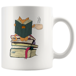 Kittens, Cats, Teas and Books Humorous Appreciation Coffee Mug 11 oz