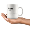 Papa Definition Great Storyteller Who Can Fix Toys Coffee Mug 11 oz