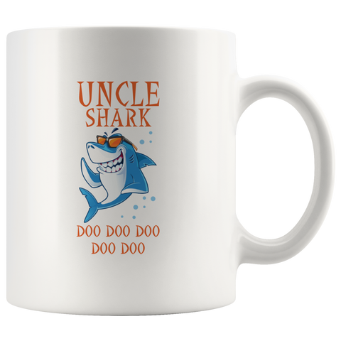 Uncle Shark Doo Doo Family Matching Dance Craze Gift Mug