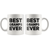Grandpa Gift Best Gramps Ever Thank You Appreciation For Grandpa Coffee Mug 11 oz