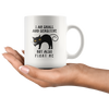 I Am Small And Sensitive But Also Fight Me Funny Gift Coffee Mug 11 oz