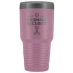Mermaid Security Gift To Swimmers Swimming Instructor Mer Dad 30 oz Tumbler