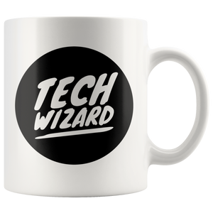 Tech Wizard  Computer Support Specialist Gifts Idea Coffee Mug 11 oz