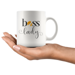 Boss Lady Mug Birthday Christmas Cool Gifts For Women Bosses Mug 11 oz