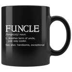 Funcle Mug-Funcle Gifts-Definition Mug 11oz
