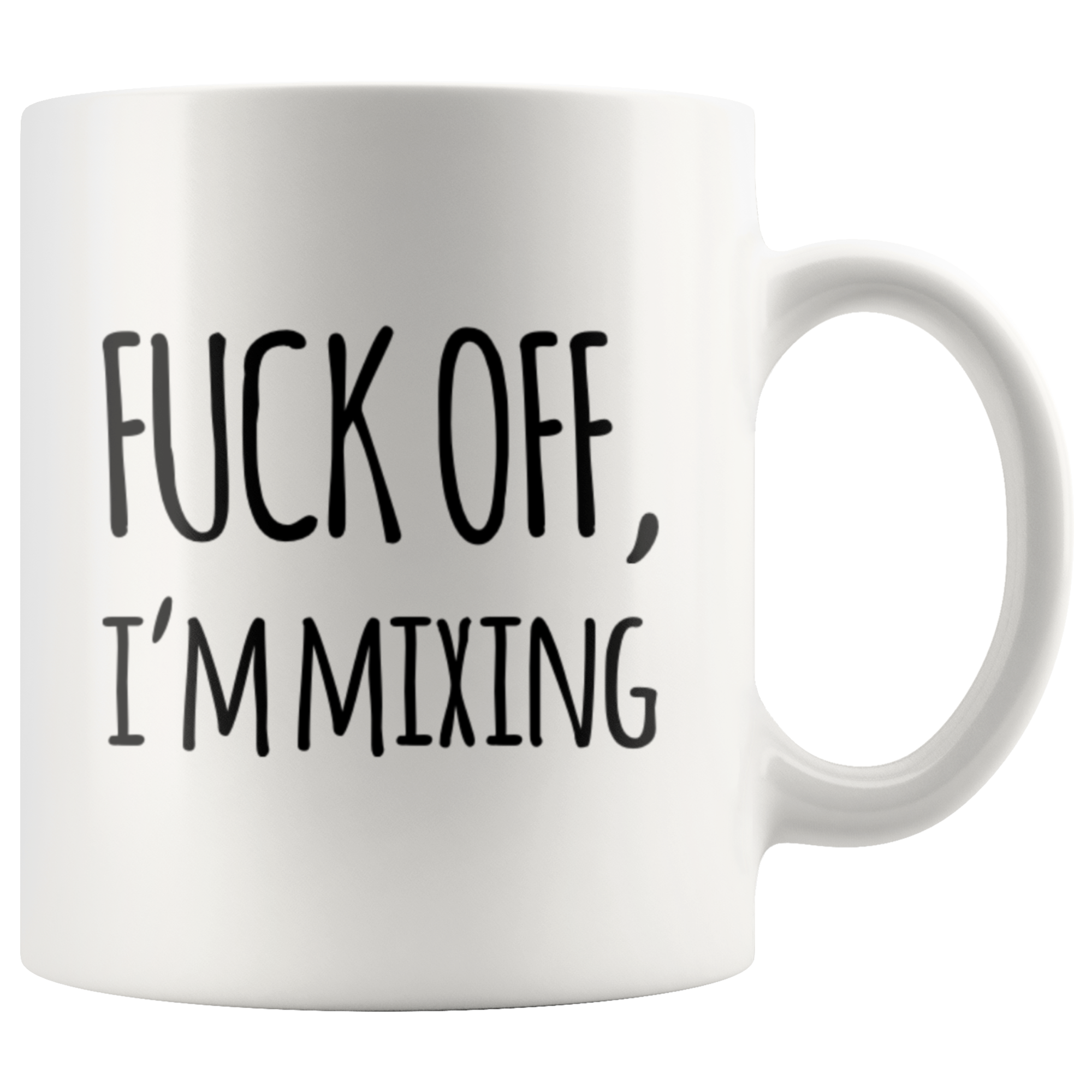 Off I'm Mixing Sarcastic Statement For Musician Coffee Mug 11 oz