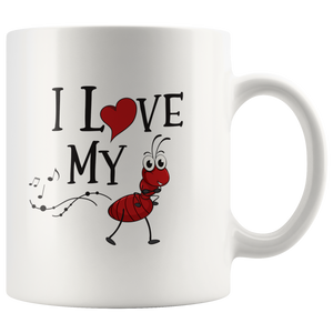 I Love My Ant I Love You Aunt Inspiring Appreciation Thank You Coffee Mug 11 oz