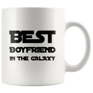 Best Boyfriend In The Galaxy Anniversary Appreciation Coffee Mug 11 oz