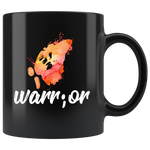 Warrior Butterfly Watercolor Semicolon Suicide Prevention Awareness Ceramic Mug