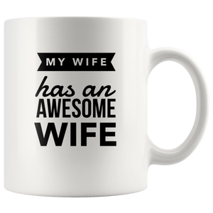 Funny Gift for Lesbian Wife-LGBT Wedding Anniversary Gift Ideas-Romantic Coffee Teacup Mug